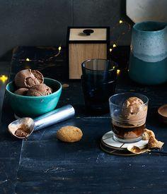 Chocolate ice-cream recipe :: Gourmet Traveller