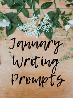 January Writing Prompts - More Than A Flower Poetry Prompts, Writing Prompts, Flower Poetry, Writing Practice, New Beginnings, My Books, Cart, Website, Medium