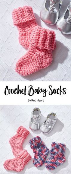 Fun And Easy Baby Booties Crochet Pattern For Beginners ༺✿ƬⱤღ ...