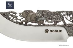 """Knife composition """"The prey and the predator"""" – Noblie"""