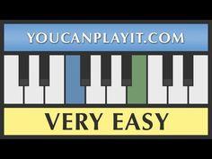 Vivaldi - Four Seasons - Spring - 1st Move [Very Easy Piano Tutorial] - YouTube