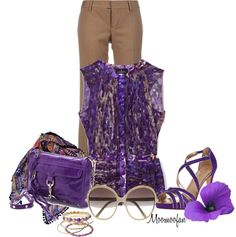 """Workin' For A Livin"" by moomoofan1972 on Polyvore"