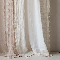 Bella Notte Curtain Panel Antonia Scalloped @LaylaGrayce