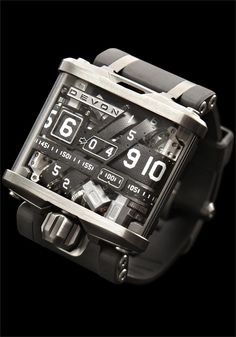 """The Devon Tread D Watch - every time I find a watch I like it comes with an insane price tag. This one is """"ONLY"""" $17,490.00"""