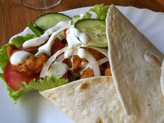 Tzatziki, Tacos, Cooking, Ethnic Recipes, Food, Diet, Recipe, Kitchen, Essen