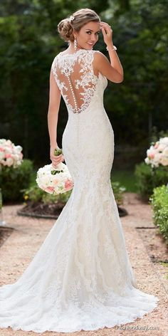 Stella York Wedding Dress 2018 - New Collections Designer Wedding Dress Tulle an. - Stella York Wedding Dress 2018 – New Collections Designer Wedding Dress Tulle and Lace Wedding Dr - Wedding Dress Black, Wedding Dress Chiffon, Wedding Dresses 2018, Country Wedding Dresses, Princess Wedding Dresses, Elegant Wedding Dress, Designer Wedding Dresses, Bridal Dresses, Girls Dresses