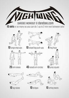 Nightwing Workout