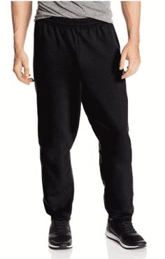 Hanes Men's Ecosmart Fleece Sweatpant (Pack of Charcoal Heather, The Hanes comfort blend EcoSmart sweatpants provides medium-weight fleece comfort all year around. Even better, Hanes keeps plastic bottles out of landfills by using recycled polyester. Athletic Outfits, Sport Outfits, Latest T Shirt, Mens Fleece, Pajama Pants, Sweatpants, Mens Fashion, How To Wear, Shirts
