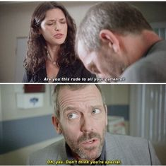 charming life pattern: I miss House! - House M.D - hugh laurie - quote - ...