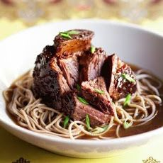 Asian Braised Short Ribs with Noodles Recipe