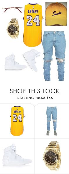 """""""Smoke"""" by li-janee on Polyvore featuring adidas, Diesel, Rolex, Cartier, men's fashion and menswear"""