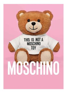 Moschino Toy Eau de Toilette: Teddy Bear hides a bottle of unisex fragrance, now available Jeremy Scott, Nordstrom, Moschino Bear, Franco Moschino, Isabeli Fontana, Marken Logo, Teddy Toys, Bear Wallpaper, Watch Wallpaper