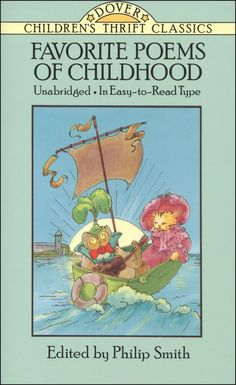 Favorite Poems of Childhood - using this book for reading aloud poetry to our first grader