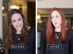 Make a dramatic hair color change. Turn to the experts at Vidal Sassoon for some inspiration. @dailymakeover