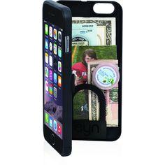 EYN iPhone 6 Plus Wallet Case | Black