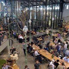 Grand Opening of the new 'Stone Brewing' brewery in Berlin