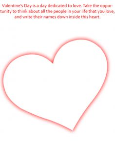 Valentine's Day Important Worksheets