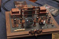 steampunk tube amp - Google Search