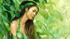 nice green fairy 7565 Check more at http://www.finewallpapers.eu/pin/23354/