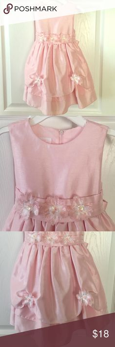 Adorable Baby Pink Girl's Dress-24M Baby pink dress for your beautiful baby girl! Worn once and in good condition! Dresses Formal