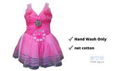 Design Net, Baby Design, Baby Net, Bubble Style, Frock Dress, Cute Headbands, Frock Design, Big Flowers, Frocks