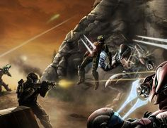 Halo: Fistful of Arrows 58-59 by LeviWasTaken