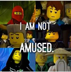 Neither am I. I'm not amused that Lego is killing off all the characters that we truly love.. -.-