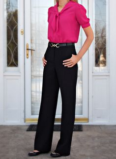The Classy Cubicle: Tie One On. The fashion blog for young professional women who need office style inspiration and work wear ideas for the corporate world. J. Crew, Vintage Tie Neck Blouse, Talbots, Essie Fiji, Victor Alfaro