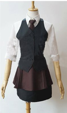 Camplayco Tokyo Ghoul Kirishima Touka Working Uniform Cosplay Costume-made -- You can get more details by clicking on the image.