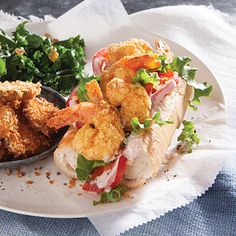Po'boy - 16 Restaurant Dishes Made Healthy - Cooking Light
