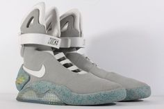 03edadfad8aaa Details about Nike Air Mag Back To The Future 2011 Marty McFly DS Size 9  New With Box