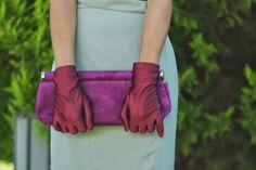 Vestido/Dress Toni Francesc - SS 13 Guantes/Gloves Guantes Victoriano  Clutch Rebeca Sanver - Old