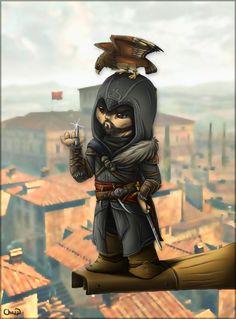 Chibbi Ezioby*chezzepticon (SO CUTE.) #AssassinsCreed #EzioAuditore