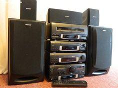 ****ห้องเครื่องเสียง mini component SONY ภาคพิเศษ**** - เว็บบอร์ดหูฟังมั่นคง munkonggadget Ashley Graham Outfits, Hi Fi System, Music System, Hifi Audio, Loudspeaker, Electronics Gadgets, Wireless Speakers, Logitech, Audiophile