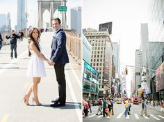 Urban Spring Engagement Session in New York City | Images by Captured Photography by Jenny | Via Modernly Wed | 20