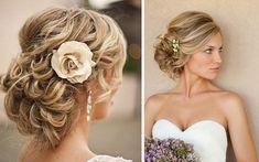 Chignon mariage cheveux long