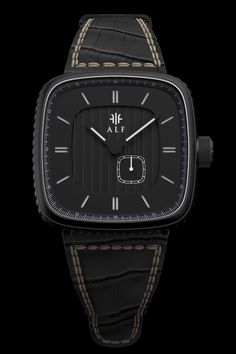 """Here is our all black version of our first model """"Norrsken""""! The watches will start at $350on Kickstarter $150 of the retail price! If you are interested in ordering a watch from us click the link..."""