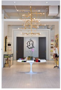 Ann Mashburn's new boutique in Westside, Atlanta via  LuxeCrush.com