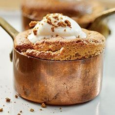 Gingerbread Soufflés | MyRecipes.com