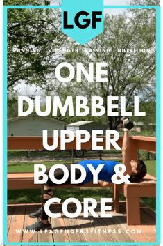 One Dumbbell Exercises Upper Body and Core When Equipment is Limited — Lea Genders Fitness Speed Workout, Dumbbell Workout, Interval Running, Overhead Press, Gym Membership, Fit Board Workouts, Group Fitness, How To Run Faster, Pinterest Board