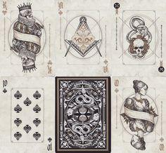 Indictus Playing Cards - RarePlayingCards.com - 11