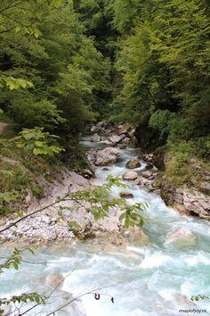 Doen in Slovenië: wandelen door de Tolmin kloof