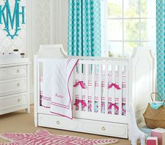 When it comes to your nursery's theme, feel free to get creative! From butterflies to flowers to something as simple as polka dots, choices of motifs are endless. Consider the style of the rest of your home, and choose a palette that works in harmony.