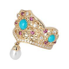 Axenoff Jewellery » Ring «Aleksandra Feodorovna»