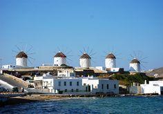 Mykonos Greek Island.
