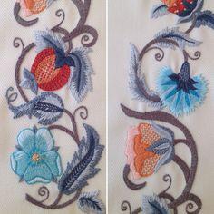 Crewel Embroidery...Berrin Şengöz atölyesi...