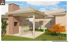 Casa - 3 Quartos - 81.45m² Lofts, Ideas Para, Pergola, Outdoor Structures, Flooring, Outdoor Decor, Instagram, Home Decor, Online Architecture
