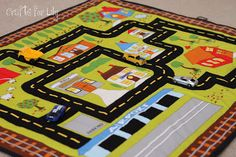 sew girly studio: Roll and Go Playmat