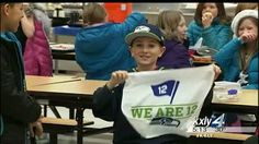 "12th Kids take over at ""Russell"" Wilson Elementary 