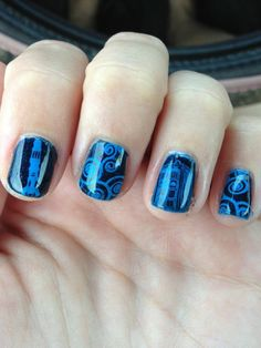 Holy freaking Doctor Who nails!!!!!!!!!